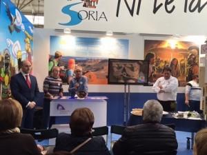 Acto de presentación de la Feria de la Trufa de Soria en Abejar.