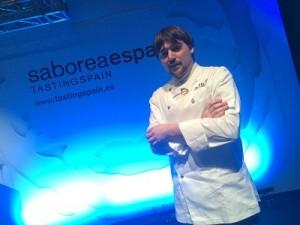 Carlos Aldea, chef del Parador de Soria