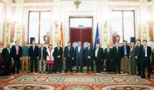 El presidente del Congreso de los Diputados recibe a entidades impulsoras de la European Mycological Institute