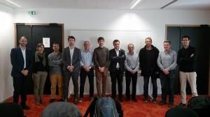 Representates del futuro IEM Instituto Europeo de Micología en Montpellier