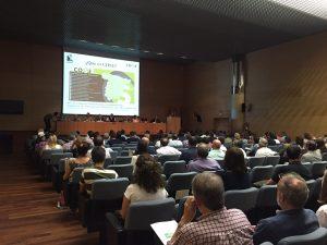 Asistentes a la Jornada Soluciones para regular la recolección y comercialización de setas y trufas en España