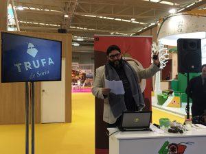 presentación trufa de Soria en Intur