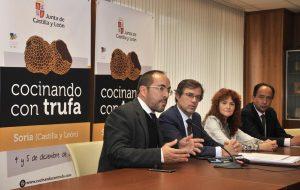 Presentación oficial del Concurso Internacional de Cocina con Trufa en Soria.