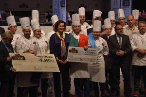"""Ganadores I Concurso Internacional de Cocina """"cocinando con trufa"""""""