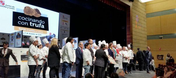 Fallo del jurado de Cocinando con Trufa en Soria