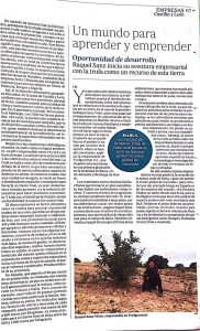 Reportaje de ABC sobre el cultivo de la trufa negra en Soria.